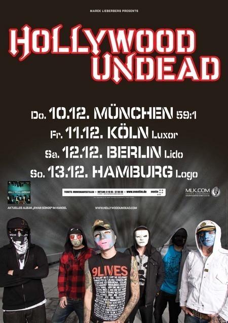 Hollywood Undead: Tour 2009