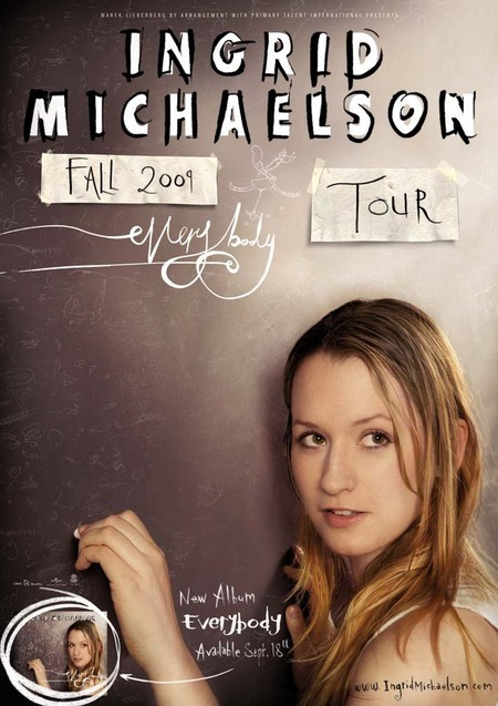 Ingrid Michaelson: Fall Tour 2009