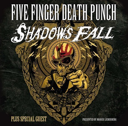 Five Finger Death Punch: & Shadows Fall - Live 2009