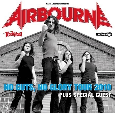 Airbourne: No Guts, No Glory - Tour 2010