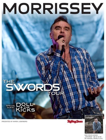 Morrissey: The Swords Tour 2009