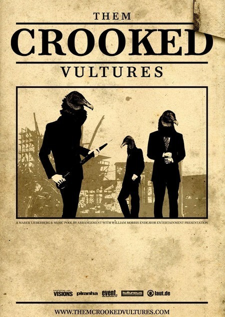 Them Crooked Vultures: Tour 2009