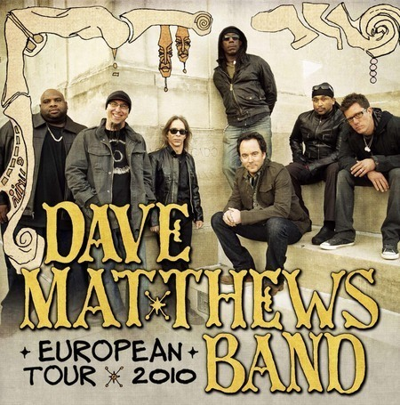 Dave Matthews Band: European Tour 2010
