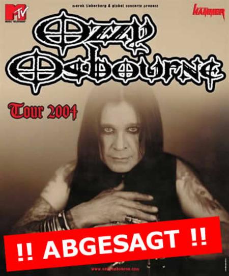 Ozzy Osbourne: Tour 2004