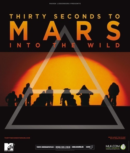 Thirty Seconds To Mars: Into The Wild - Tour 2010