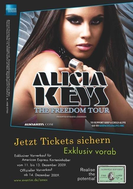 Alicia Keys: The Freedom Tour 2010