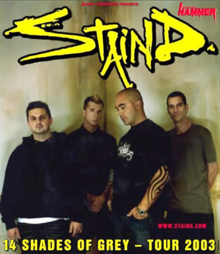Staind: 14 Shades of Grey - Tour 2003