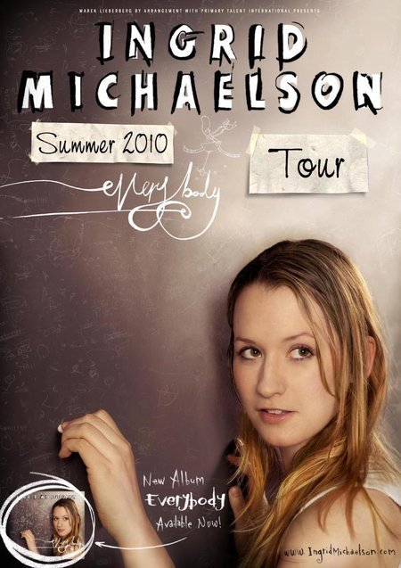 Ingrid Michaelson: Tour 2010