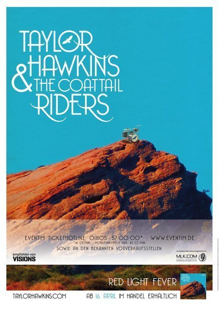 Taylor Hawkins & The Coattail Riders: Live 2010