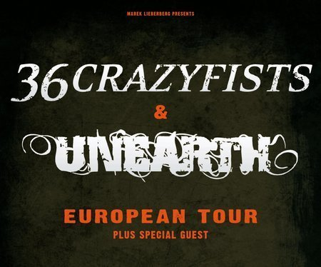 36 Crazyfists & Unearth: Live 2010