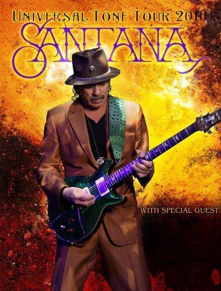 Santana: Universal Tone Tour 2010