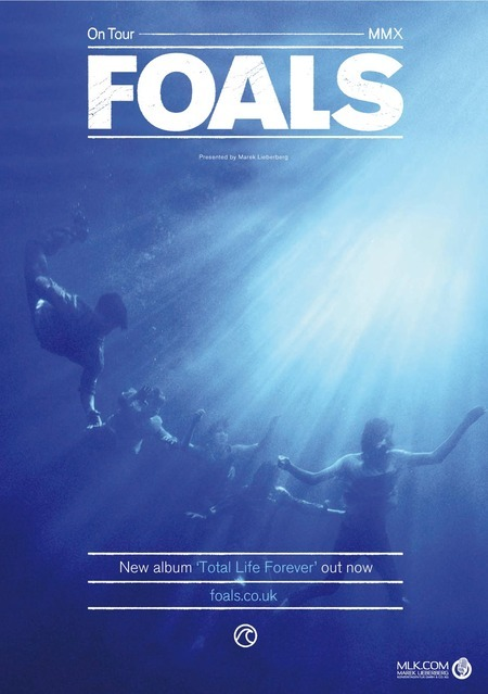 Foals: On Tour 2010