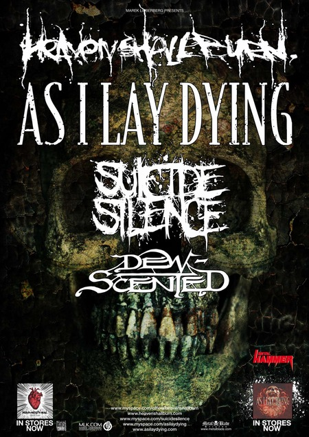 As I Lay Dying & Heaven Shall Burn: Live 2010