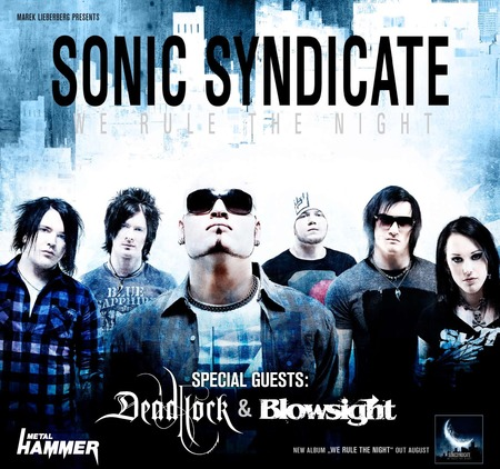 Sonic Syndicate: Tour 2010