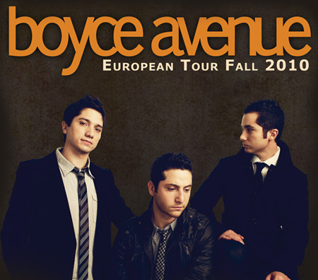 Boyce Avenue: European Tour Fall 2010
