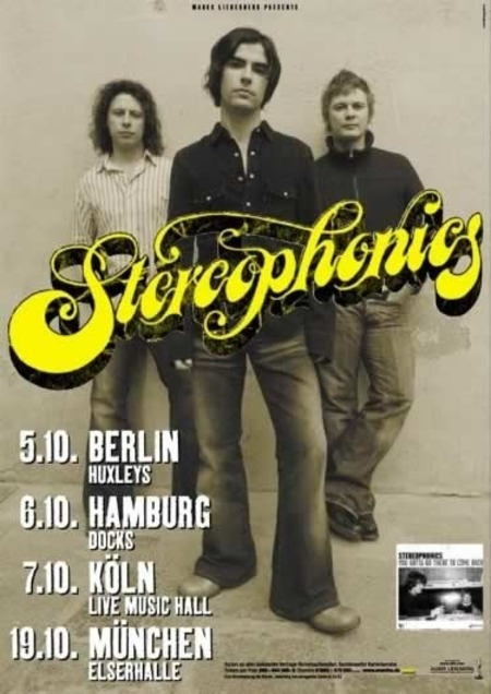 Stereophonics: Tour 2003