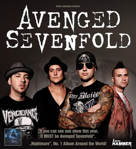 avenged sevenfold tour 2010 mlk. Black Bedroom Furniture Sets. Home Design Ideas