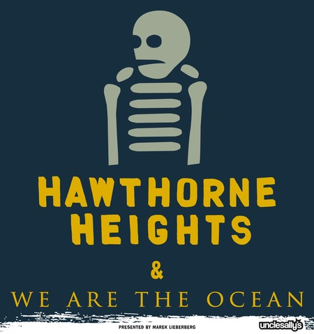Hawthorne Heights: & We Are The Ocean - Tour 2010