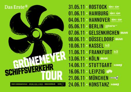 Herbert Grönemeyer: Schiffsverkehr - Tour 2011