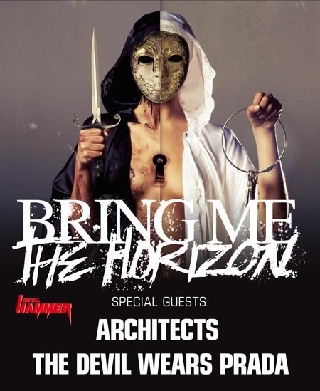 Bring Me The Horizon: Tour 2011