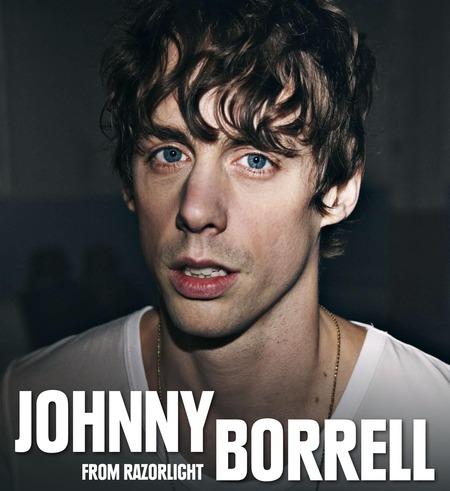 Johnny Borrell: Live 2010