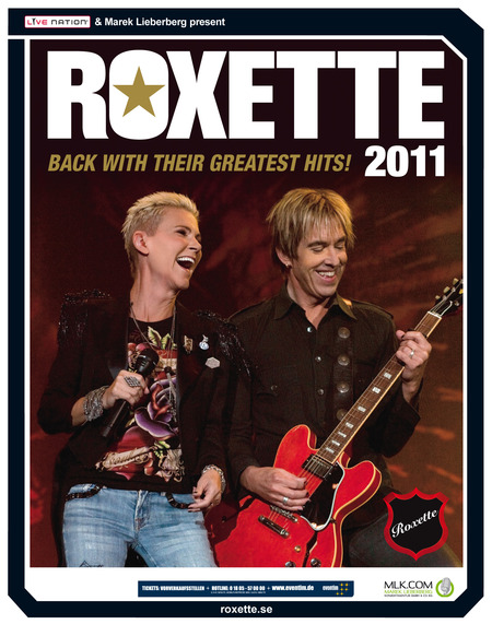 Roxette: Back With Their Greatest Hits - 2011
