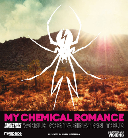 My Chemical Romance: World Contamination Tour 2011