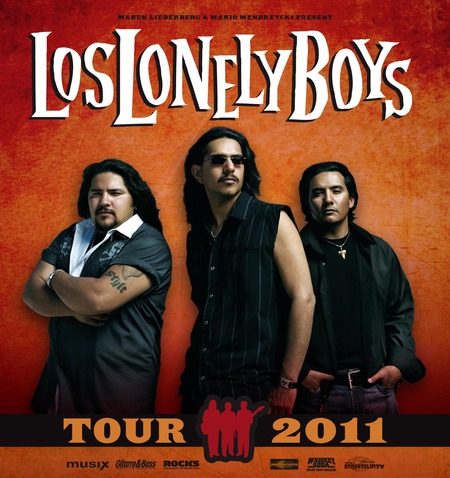 Los Lonely Boys: Tour 2011