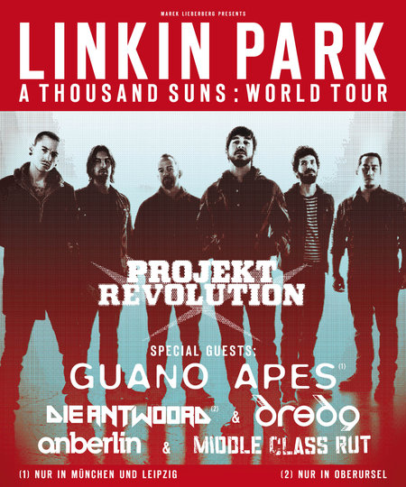 Linkin Park: Projekt Revolution - A Thousands Suns : World Tour 2011