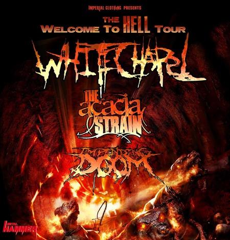 Whitechapel: Tour 2011