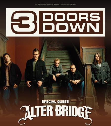 3 Doors Down: Tour 2011