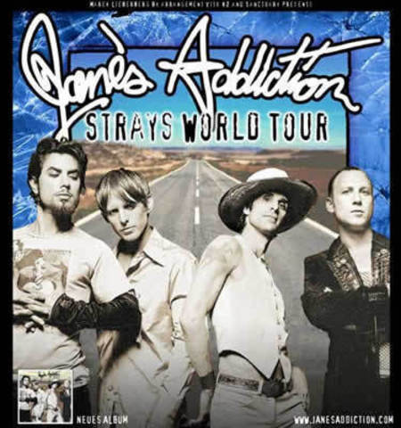 Jane's Addiction: Strays World Tour