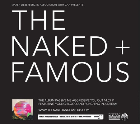 The Naked And Famous: Live - 2011