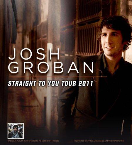 Josh Groban: Straight To You Tour 2011