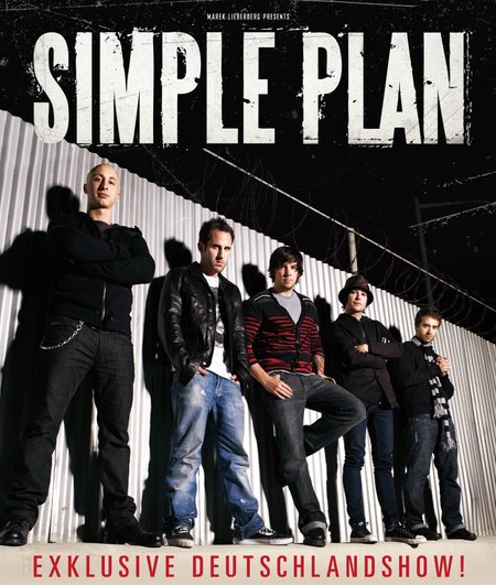 Simple Plan: Exklusive Deutschlandshow 2011