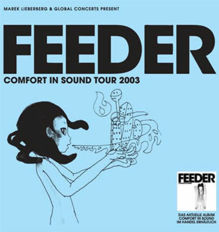 Feeder: Comfort in Sound Tour 2003