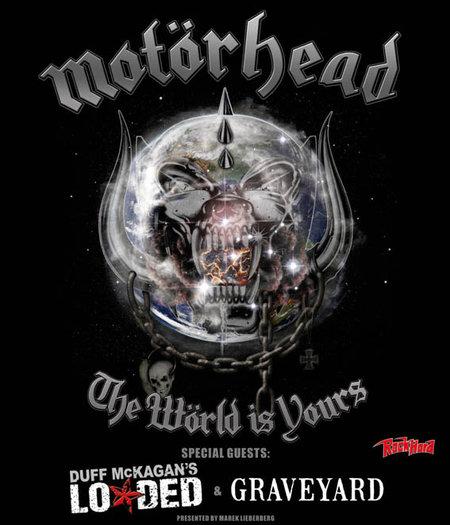 Motörhead: The Wörld Is Yours Tour 2011