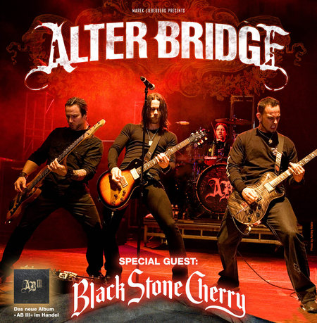 Alter Bridge: Tour 2011