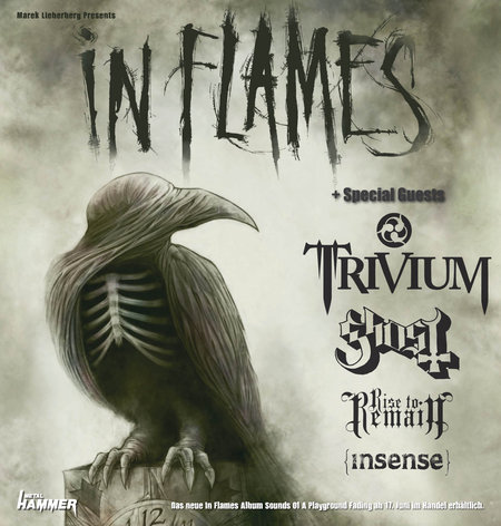 In Flames: Tour 2011