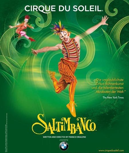 Saltimbanco: von Cirque Du Soleil - 2012
