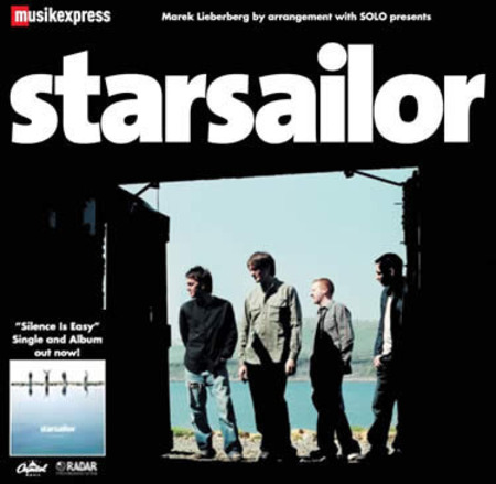 Starsailor: Tour 2003