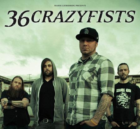 36 Crazyfists: Tour 2011