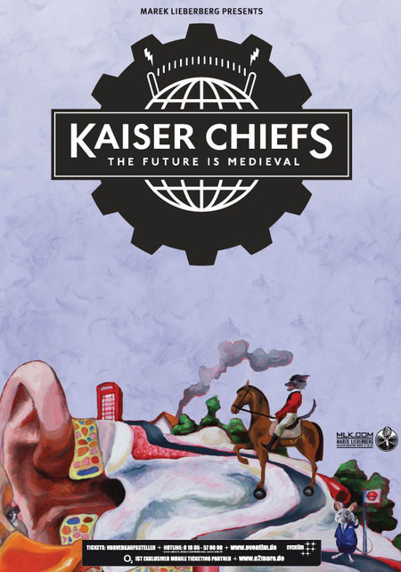 Kaiser Chiefs: The Future Is Medieval Tour 2011