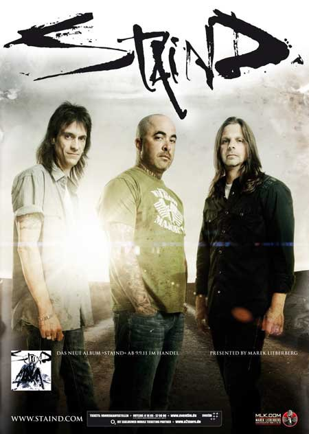Staind: Tour 2011