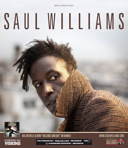 Saul Williams: Live 2011