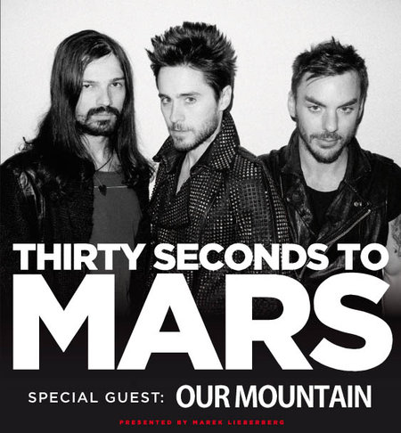 Thirty Seconds To Mars: Tour 2011