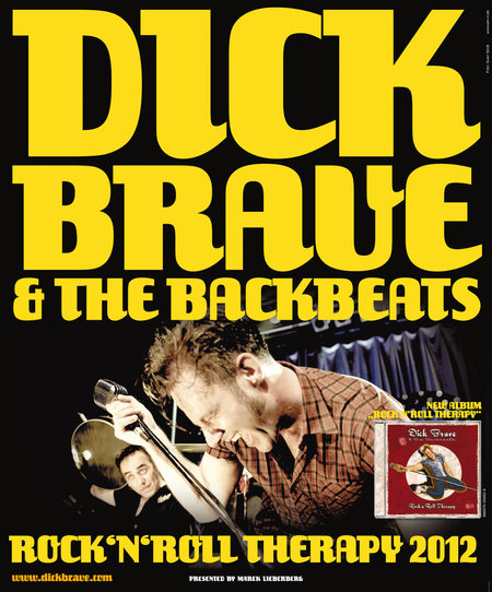 Dick Brave & The Backbeats: Rock 'n' Roll Therapy Tour - 2012