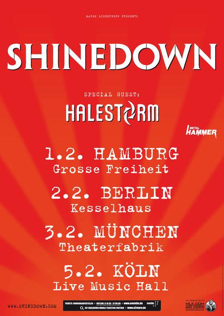 Shinedown: Tour 2012
