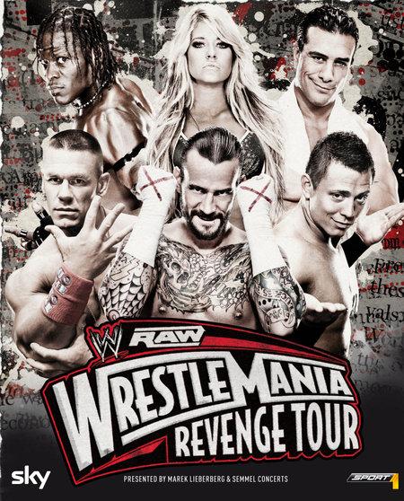 WWE RAW: WrestleMania Revenge Tour 2012