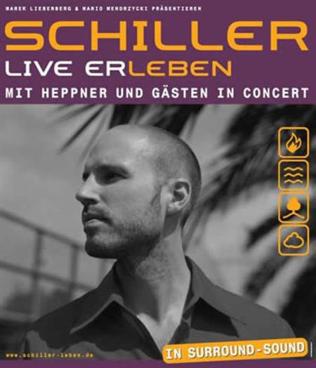 Schiller: Live Er-Leben mit Heppner und Gäste in Concert